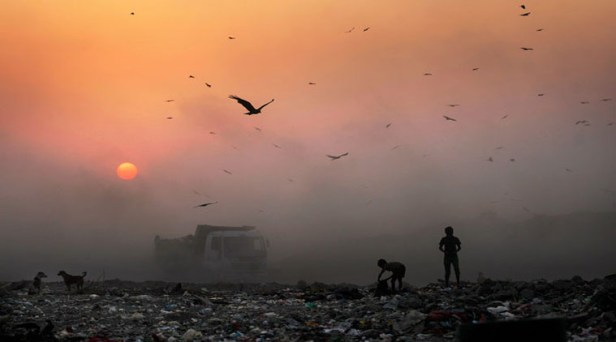 Deonar dumping ground